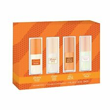 1 set of four different cologne sprays for woman each weighs one ounce each