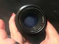Minolta Maxum  AF Maxxum 50mm 1:1.7 Lens  (A029)