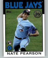 2021 Topps Series 1 NATE PEARSON 1986 Topps Insert Blue Jays Rookie RC #86B-69