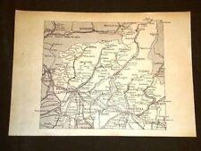 Cartina di Brescia Chari Bergamo