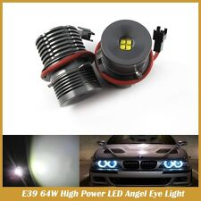 BMW ENGELSAUGEN 64W CREE E39 6000K LED BIANCO CANBUS TY LM 101 BMW E39