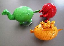 Lot of 3 Meteorbs HE-MAN MOTU Style Egg 80's Toys Collectable@ Ghidrah/Godzilla