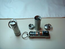 Battery Case Keychain Custom Made Stainless Steel