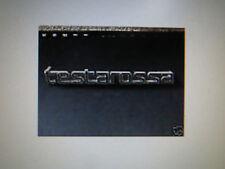 """Pocher 1/8 Ferrari """"Testarossa"""" Metal Correct Emblem Badge Rear Deck Lid"""