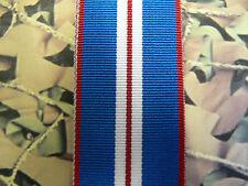 Full Size Medal Ribbon - Golden Jubilee Medal 2002