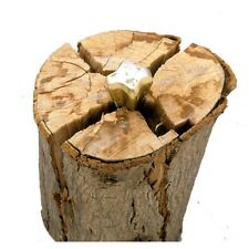 """Diamond 7"""" Wood Splitting Wedge Wood Grenade Log Splitter"""