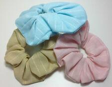 2 x Volumen-Scrunchie GAROS Farben Blau Rosa Lila Pink wählbar Haargummi