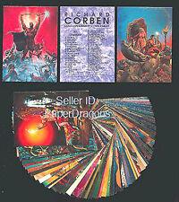 RICHARD CORBEN - 90 Card Fantasy Art Set