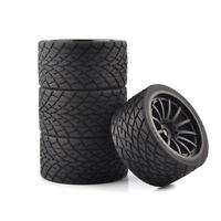 4Pcs 1:8 Bigfoot Monster Truck Tires&Wheels Set for TRAXXAS RC Model Car Tyres