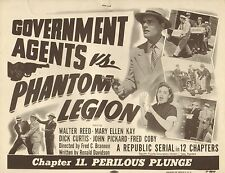 Government Agents vs Phantom Legion -  Classic Cliffhanger Serial DVD