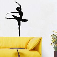 Wall Room Decor Art Vinyl Sticker Mural Decal Ballet Dance Women Ballerina FI343