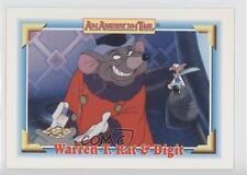 1991 Impel An American Tail: Fievel Goes West #115 Warren T Rat & Digit T. 0b6