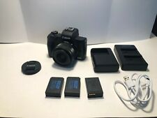 **MINT** Canon EOS M50 24.1MP Mirrorless Digital Camera with 15-45mm STM Lens