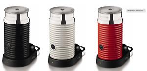 NESPRESSO AEROCCINO 3 Milk Heater & Frother Choose Black, Red Or Cream QUICKPOST