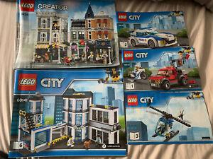 Lego City Police Station 60141, Lego Creator 10255