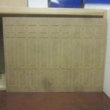 Dolls House 12th scale   Wall Panelling very Tall 3 high panels   MDF312