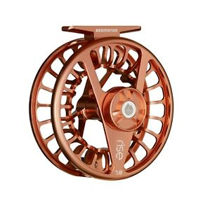 Redington Rise Fly Reel - Black, Olive, Rose Gold, Silver or Amber - All Sizes