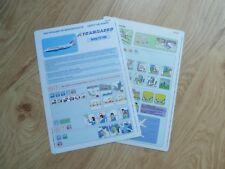 Transaero  737-500 Series Safety Card