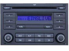 Original Autoradio VW RCD 200 mit CD MP3  für VW Passat B5 Golf IV 4 Polo Bora