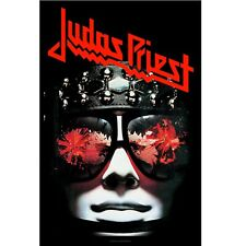 Judas Priest Hell Bent For Leather Poster Flag Official Fabric Premium Textile