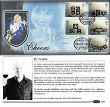 6 FEBRUARY 2001 OCCASIONS BENHAM BLCS 199B FIRST DAY COVER SIGNED OZ CLARKE