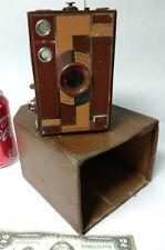 Old Box Camera Beau Brownie Kodak No. 2A 116 Film Art Deco Walter Dorwin Teague