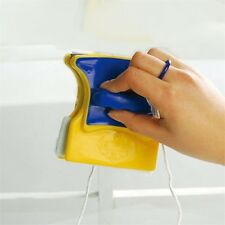 Magnetic Window Double Side Glass Wiper Cleaner Cleaning Brush Pad Scraper V1