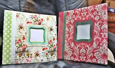 two New scrapbooking albums, beautiful