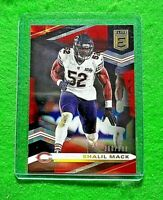 KHALIL MACK PRIZM RED CARD SP#/399 CHICAGO BEARS 2020 DONRUSS ELITE FOOTBALL SP