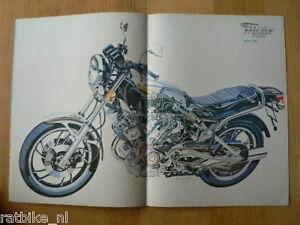MV8109-POSTER YAMAHA TR1,MOTO GUZZI STORY,KAWA GPZ550D