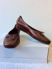 BRAND NEW VAN DAL ORLANDO BRONZE LEATHER SHOES SIZE 7/40