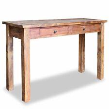 vidaXL Massivholz Konsolentisch Handarbeit Altholz Tisch Konsole Beistelltisch