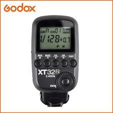 Godox XT32-N 2.4G 1/8000s Flash Transmitter for Nikon Fit with XTR-16 XTR-16S X1