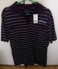 x5 Cotton Tshirts - Medium - Striped / Grey / Black - BNWT