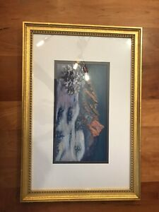 """Dusk On the Flatirons"" by Diana Tripp. Medium is Pastel"