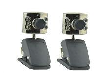 Webcam 2 Pk clip on webcam with mic for desktop laptop Notebooks Acer asus dell