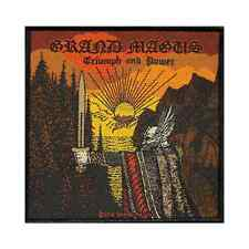 GRAND MAGUS Woven Patch TRIUMPH AND POWER Aufnäher ♫ Heavy Metal ♪ Epic Doom ♫