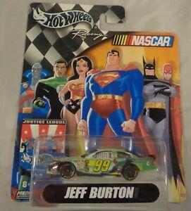 Hot Wheels Racing NASCAR Justice League Jeff Burton Taurus Green Lantern 1:64