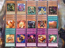 Yugioh Tournament Ready To Play Beast Baboon Beatdown Aggro 40 Card Deck NM