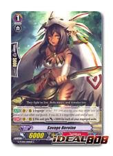 Cardfight Vanguard  x 4 Savage Heroine - G-TCB01/060EN - C Pack Fresh Mint