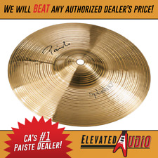 """Paiste Signature 10"""" Splash Cymbal! Buy from CA's #1 Dealer Today!"""