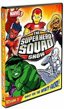 New: THE SUPER HERO SQUAD SHOW: Quest For The Infinity Sword Vol. 2 DVD