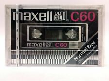 Maxell UD XL I c60 Blank Audio Cassette audio New RARE 1977 Year Japan made