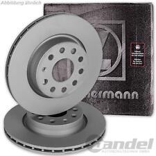 2x Zimmermann Disques de frein avant Renault Clio Grand Scenic Laguna Megane