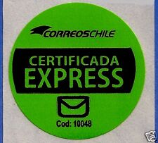 CHILE, OFFICIAL CORREOSCHILE UNUSED POSTAL STICKER # 06