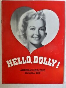 "USICAL ""HELLO DOLLY"" PROGRAM WITH BETTY GRABLE & MAX SHOWALTER - DAVID MERRICK"