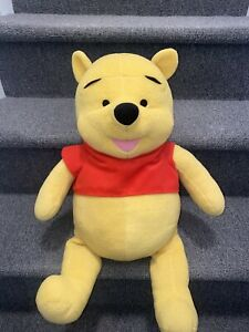 """WINNIE THE POOH 27"""" LARGE DISNEY TALKING PLUSH TOY FISHER PRICE HUGE GIANT DOLL"""