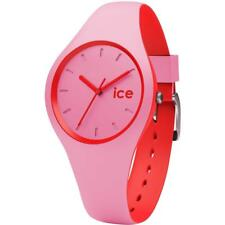 Wristwatch ICE WATCH DUO IC.DUO.PRD Silicone Pink Red Small 100mt