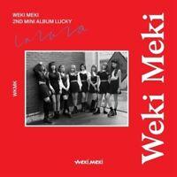 WEKI MEKI - Lucky [Weki ver.] CD+Booklet+Photocard+Poster+Free Gift