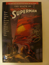 Death Of Superman TPB Signed By Dan Jurgens